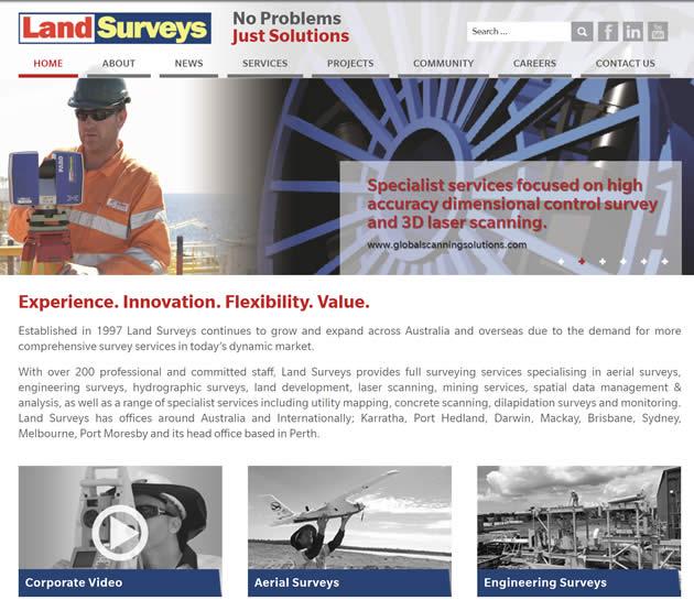 SEO Case Study on Land Surveys