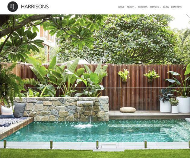 SEO Case Study on Harrison's Landscaping